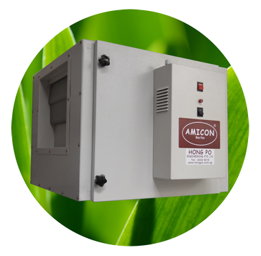 AMICON Box Fan (Centrifugal Fan)