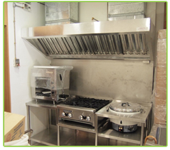 Custom Made Stainless Steel  Kitchen Hood