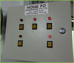 CONTROL PANEL FOR EXHAUST & FRESH AIR FAN