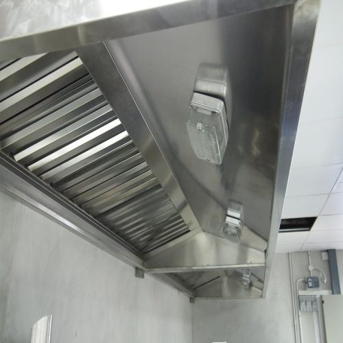 Kitchen Hood& UVC Lamp