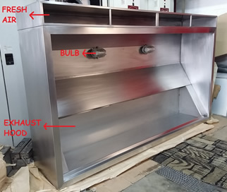 LARGE KITCHEN HOOD