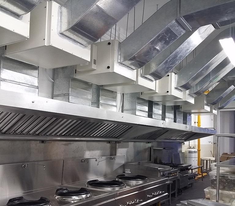 Kitchen Hood & Kitchen Exhaust System