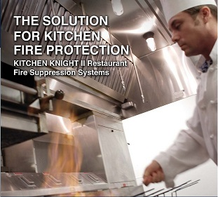 The Solution for kitchen fire protection