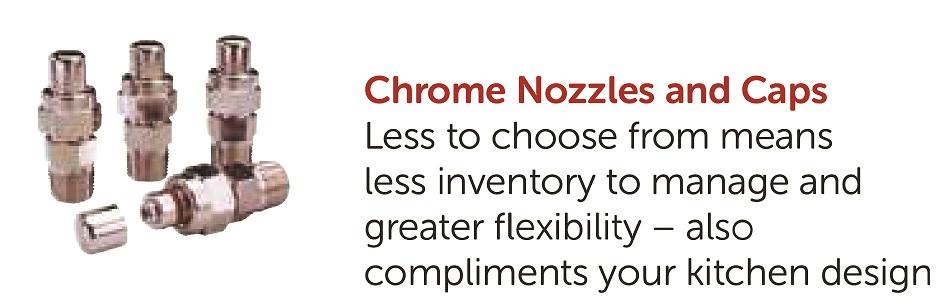 Chrome Nozzies and Caps