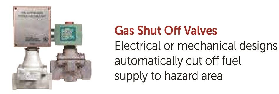 Gas Shut Off Valves