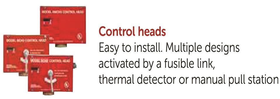 Fire Suppression Control Heads