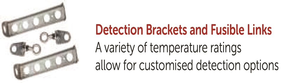 Detection Brackets and Fusible Links