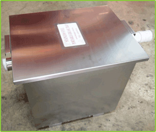 PORTABLE GREASE TRAP ARE DESIGNED TO SEPERATE GREASEY MATERIALS FROM WASTEWATER SO THAT WILL
